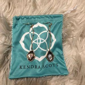 Kendra Scott Charmian Rose Gold Drop Earrings